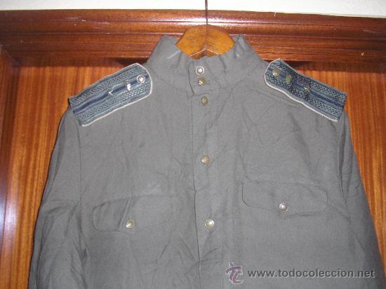 GYMNASTIORKA SOVIETICA DE OFICIAL DE CARROS (Militar - Uniformes Extranjeros )