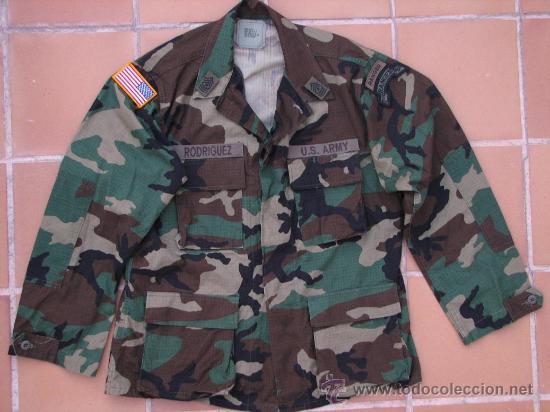 Camisola original us army ranger woodland + li - Sold through Direct