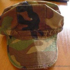 Militaria: CAP COMBAT US MARINES - GORRA US NAVY WOODLAND TALLA EXTRA P (52) XS 6 1/2 EJERCITO AMERICANO. Lote 29911927