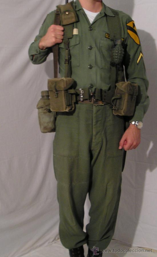 Uniforme Us Army Vietnam Og 107 Primera 233 Poca Comprar