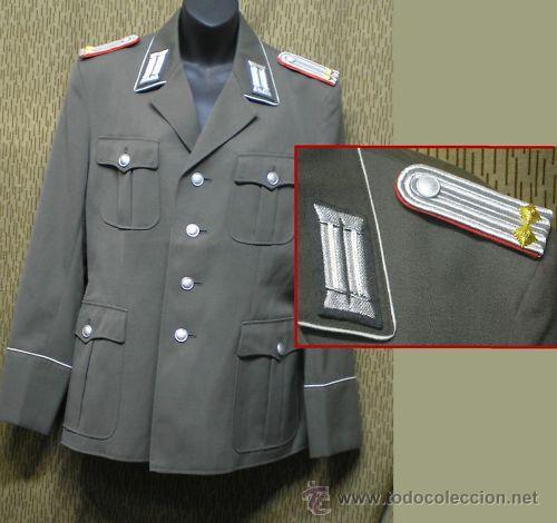 UNIFORME DE GALA DE OFICIAL ALEMAN DDR- NVA (Militar - Uniformes Extranjeros )
