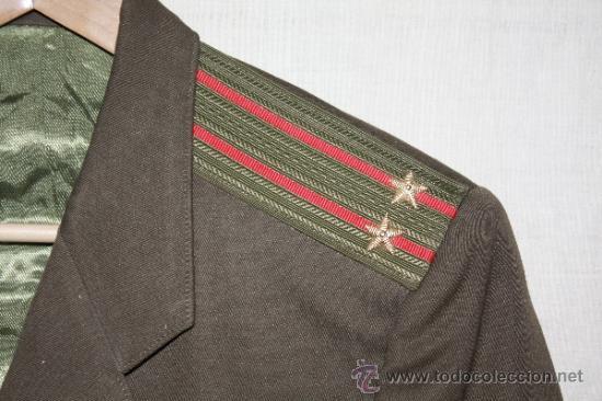 Militaria: Chaqueta DE TENIENTE CORONEL RUSO - Foto 2 - 32435021