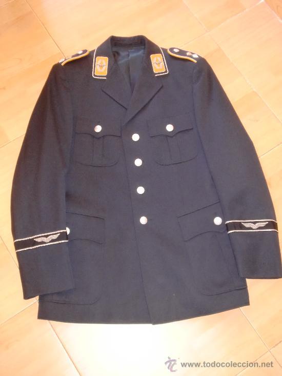 GUERRERA OFICIAL ALEMAN LUFTWAFFE 2ª GM PILOTO PARACAIDISTA (Militar - Uniformes Extranjeros )