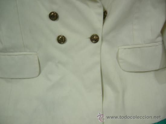 Militaria: CHAQUETA DE GALA CON BOTONES DE MARINA Y ESCUDO A IDENTIFICAR. LEER DESCRIPCION - Foto 5 - 33379913