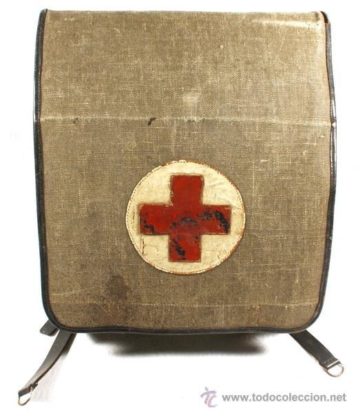 Militaria: Guerrera y equipo, sanitario Cruz Roja alemana, original alemán 2 GM - Foto 27 - 34612729