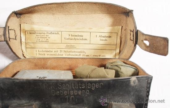 Militaria: Guerrera y equipo, sanitario Cruz Roja alemana, original alemán 2 GM - Foto 32 - 34612729