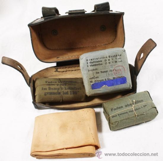 Militaria: Guerrera y equipo, sanitario Cruz Roja alemana, original alemán 2 GM - Foto 35 - 34612729