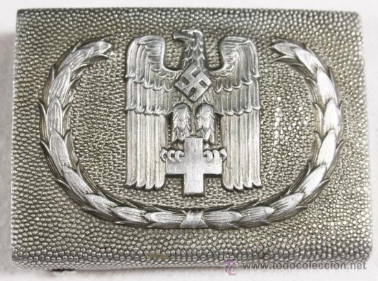 Militaria: Guerrera y equipo, sanitario Cruz Roja alemana, original alemán 2 GM - Foto 37 - 34612729