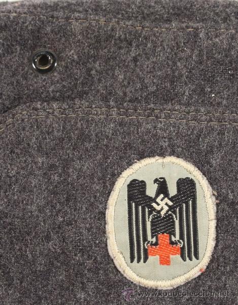 Militaria: Guerrera y equipo, sanitario Cruz Roja alemana, original alemán 2 GM - Foto 45 - 34612729