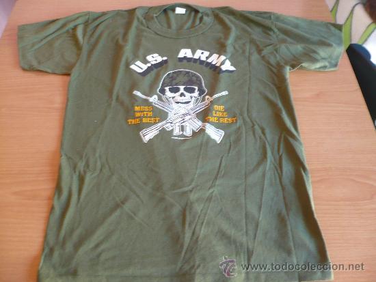 CAMISETA US ARMY TALLA XL .EJERCITO AMERICANO. (Militar - Uniformes Extranjeros )