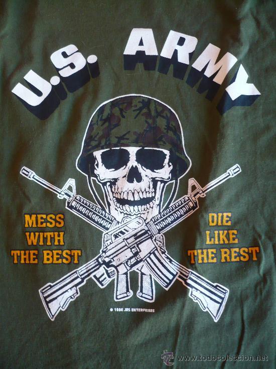 Militaria: CAMISETA US ARMY TALLA XL .EJERCITO AMERICANO. - Foto 2 - 34681247