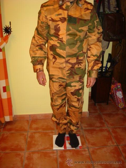 UNIFORME MILITAR ITALIANO TIPO DESERTICO NATO UNIFORME DA COMBATIMENTO (NUEVO) (Militar - Uniformes Extranjeros )