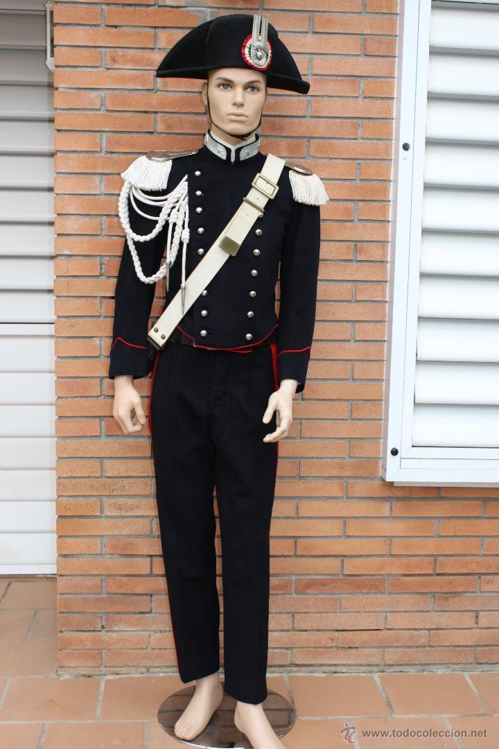 Militaria: UNIFORME POLICIA ITALIANO - CARABINIERI ITALIA - Foto 2 - 39674577