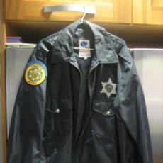 Militaria: CHAQUETA PLASTICO ORIGINAL SHERIFF DEL CONDADO DE WYANDOTTE KANSAS. Lote 39787078
