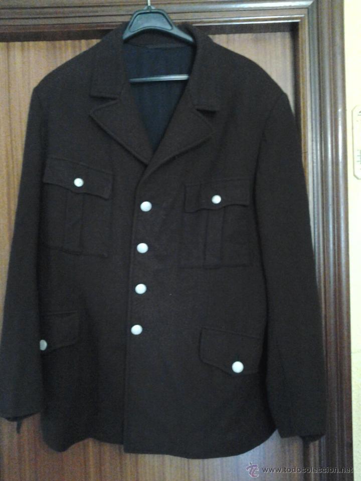 Militaria: DESCONOCIDA GUERRERA ALEMANA COLOR MARRON DE CORTE MILITAR NSDAP? - Foto 2 - 40047216