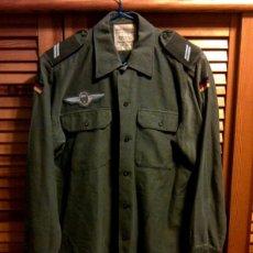 Militaria: CAMISA ALEMANA PARACAIDISTA CON GRADUACION AÑOS 70. Lote 40672905