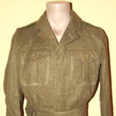 Militaria: BATTLEDRESS, CHAQUETA, GUERRERA BRITANICA DE OFICIAL, MODELO 1940, 2ª GUERRA MUNDIAL, AÑO 1953.. Lote 43896469