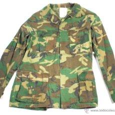 Militaria: CHAQUETA PARA CLIMAS TROPICALES, 2º MODELO, CAMUFLAJE WOODLAND, USA VIETNAM Y POSTERIOR. Lote 43984812