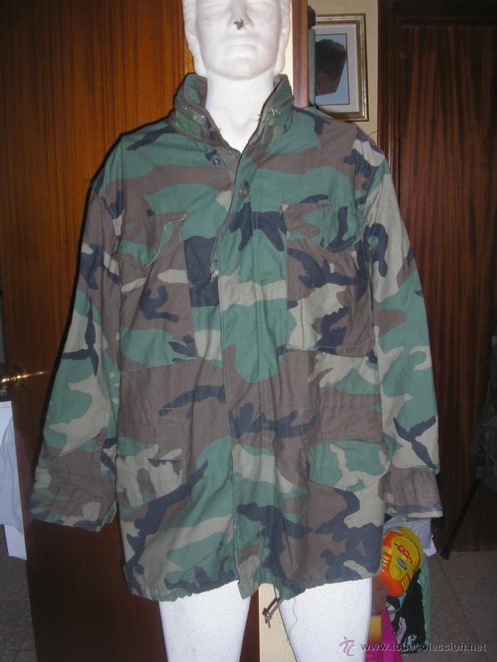 US MARINES Y ARMY. CHAQUETON WOODLAND (Militar - Uniformes Extranjeros )