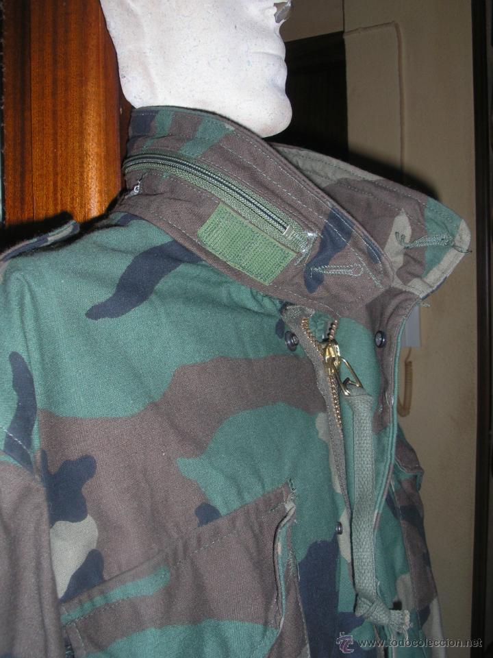 Militaria: US MARINES Y ARMY. CHAQUETON WOODLAND - Foto 3 - 45424853