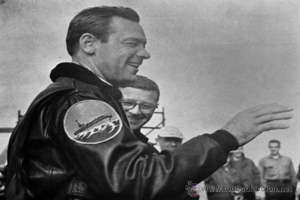 Militaria: Chaqueta de piloto original, con parches de Brubaker, The Bridges at Toko-Ri william holden - Foto 8 - 45716023