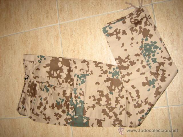 PANTALON MILITAR CAMO TROPENTARN TALLA CINTURA 37 (Militar - Uniformes Extranjeros )