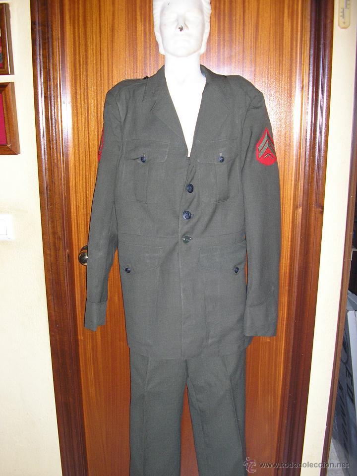 US MARINES. ANTIGUAS CHAQUETA Y PANTALON (Militar - Uniformes Extranjeros )