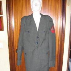 Militaria: US MARINES. ANTIGUAS CHAQUETA Y PANTALON. Lote 48005502