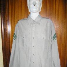 Militaria: ANTIGUA CAMISA US. MARINES. CON GALONES Y EN BUEN ESTADO. Lote 48371769