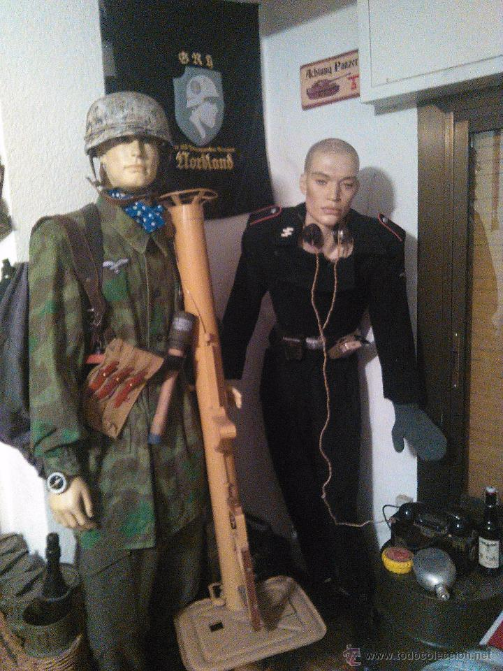 Militaria: guerrera de salto paracaidista alemán luftwaffe talla L - Foto 3 - 48863938