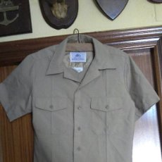 Militaria: US NAVY. CAMISA DE MANGA CORTA DE UNIFORME TALLA LARGE ATHLETIC. Lote 48867072
