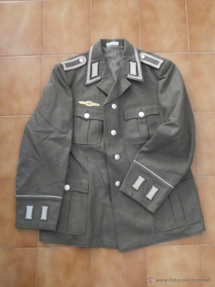 Militaria: Uniforme del ejercito alemán Tanquista 7º División Acorazada Panzer Alemania Oriental Comunista DDR - Foto 2 - 48944343