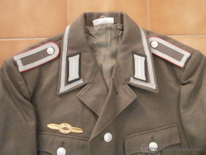 Militaria: Uniforme del ejercito alemán Tanquista 7º División Acorazada Panzer Alemania Oriental Comunista DDR - Foto 3 - 48944343