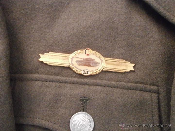 Militaria: Uniforme del ejercito alemán Tanquista 7º División Acorazada Panzer Alemania Oriental Comunista DDR - Foto 4 - 48944343