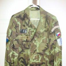 Militaria: GUERRERA REPUBLICA CHEKA USADA EN LOS BALKANES. Lote 49361177