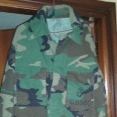 Militaria: USMC. CAMISOLA WOODLAND DE LOS US MARINES. TALLA GRANDE.. Lote 129977039