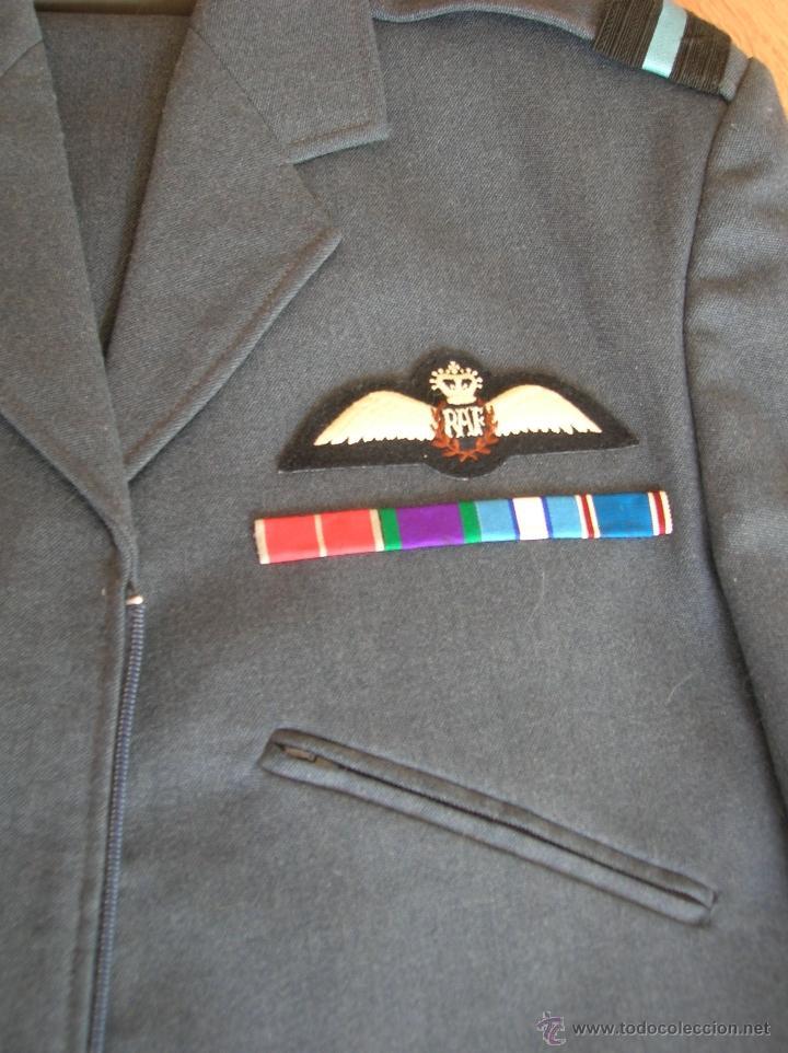 UNIFORME DE GENERAL BRITANICO DE LA ROYAL AIR FORCE  AÑOS 70  RAF