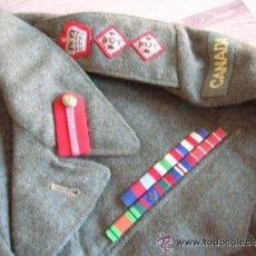 Militaria: BATTLEDRESS / GUERRERA BRITANICA DE CORONEL DE TIERRA CANADIENSE. AÑO 1947.. Lote 51590882