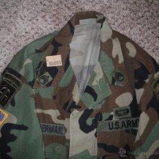 Militaria: GUERRERA COMBATE BDU US ARMY 82 DIVISION AEROTRANSPORTADA AIRBORNE SARGENTO. Lote 52536725
