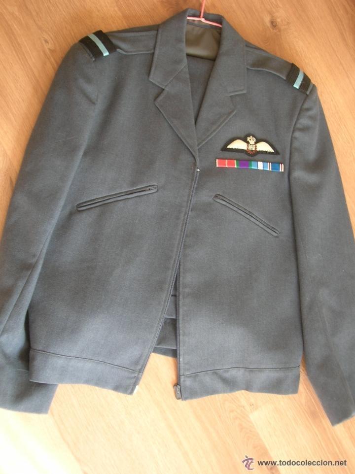 Militaria: UNIFORME DE GENERAL BRITANICO DE LA ROYAL AIR FORCE. AÑOS 70. RAF. - Foto 2 - 52540485