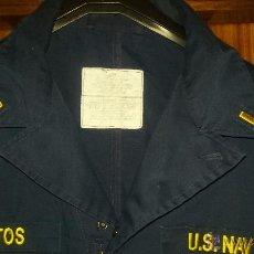 Militaria: US NAVY. MONO DE UNIFORME A BORDO. ALFEREZ DE FRAGATA. Lote 52619787