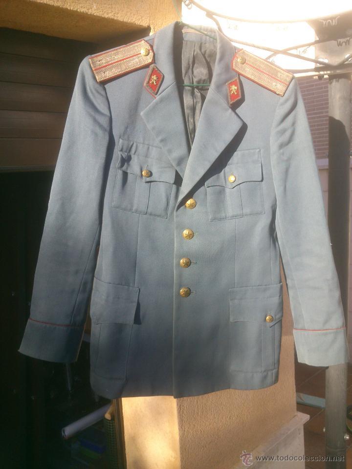 CHAQUETA UNIFORME POLICIA BULGARIA (Militar - Uniformes Extranjeros )