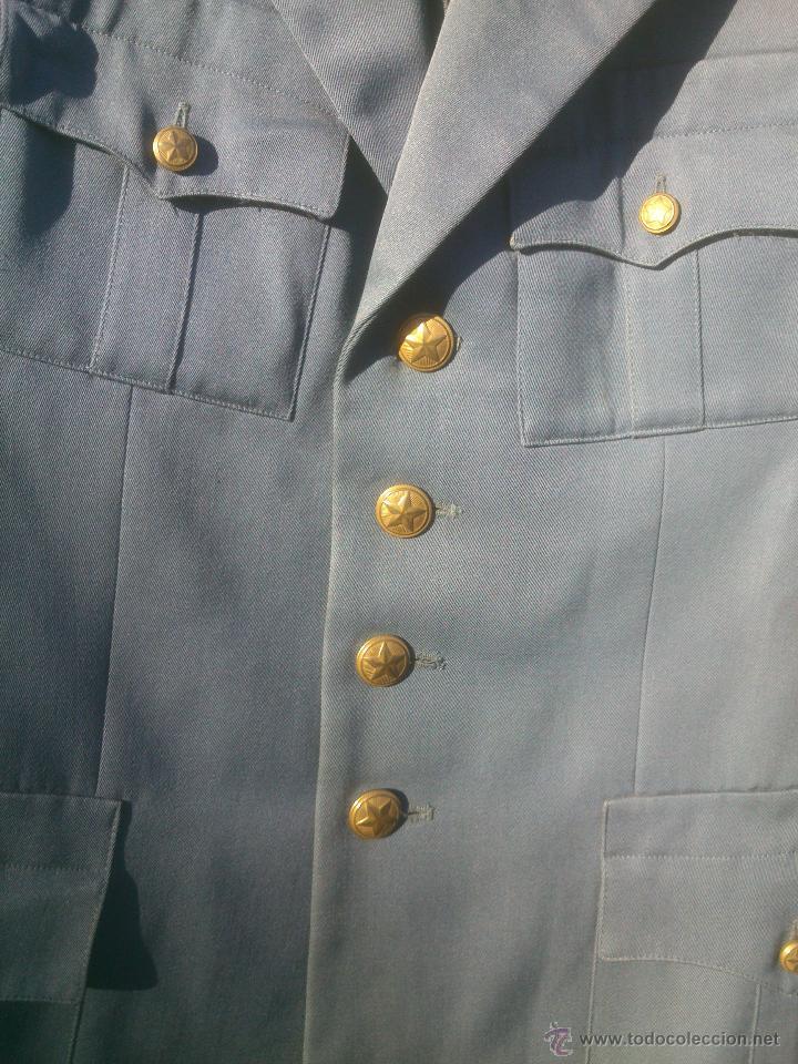Militaria: CHAQUETA UNIFORME POLICIA BULGARIA - Foto 3 - 152971442