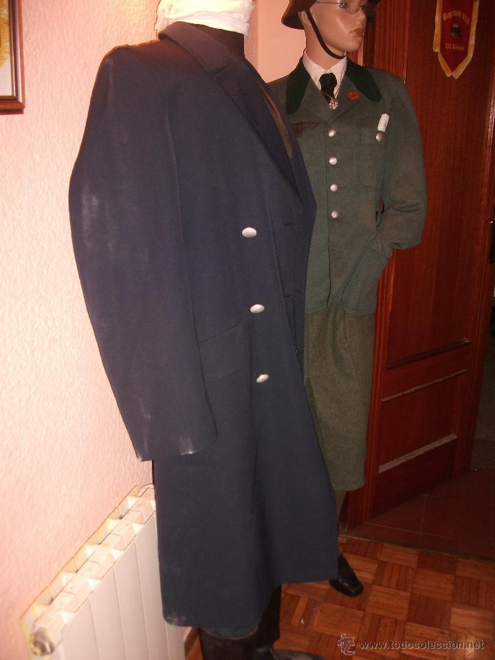 Militaria: CHAQUETON ORIGINAL LUFTWAFFE POST COLOR BLAUGRAU CON FORRO INTERIOR PERFECTO ESTADO TALLA L EUROPEA - Foto 4 - 53365478