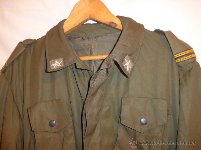 Militaria: Uniforme guerrera chaqueta de suboficial italiano, y gorra italiana, de Italia. - Foto 2 - 53451029