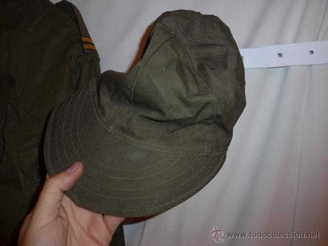 Militaria: Uniforme guerrera chaqueta de suboficial italiano, y gorra italiana, de Italia. - Foto 6 - 53451029