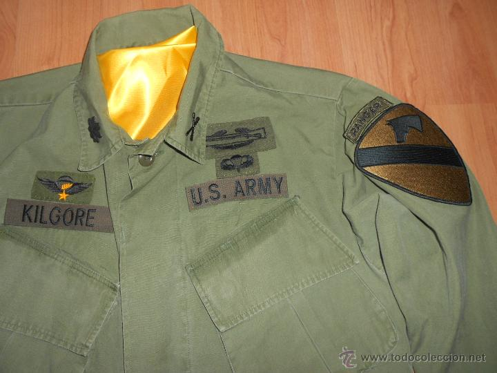 Militaria: camisa del teniente coronel kilgore, apocalypse now. talla L. Vietnam. Napalm - Foto 2 - 53616294