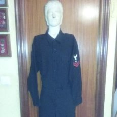 Militaria: US NAVY. ANTIGUO UNIFORME NEGRO. Lote 53685912