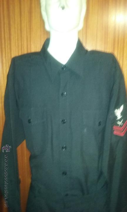 Militaria: US NAVY. ANTIGUO UNIFORME NEGRO - Foto 3 - 53685912