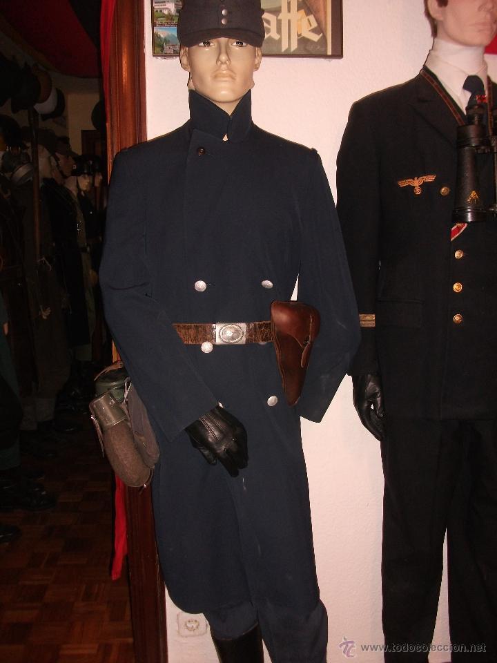 Militaria: CHAQUETON ORIGINAL LUFTWAFFE POST COLOR BLAUGRAU CON FORRO INTERIOR PERFECTO ESTADO TALLA L EUROPEA - Foto 8 - 53365478